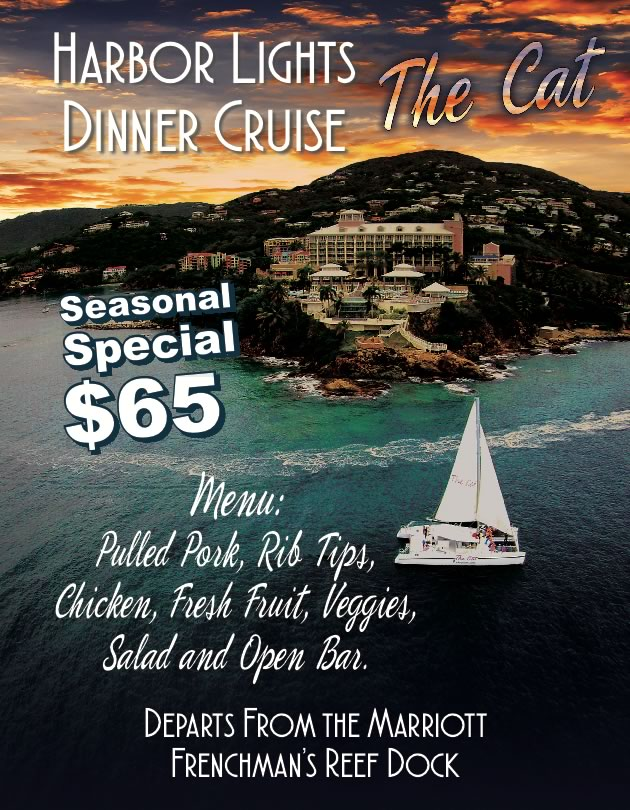 harbor lights dinner cruise st. thomas usvi