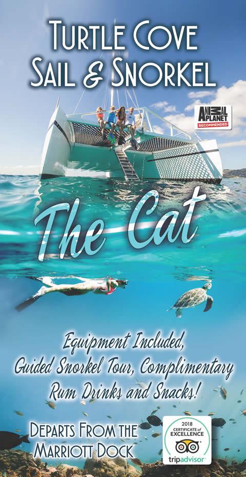 Welcome To The VI Cat Catamaran Sailing Snorkel & Dinner