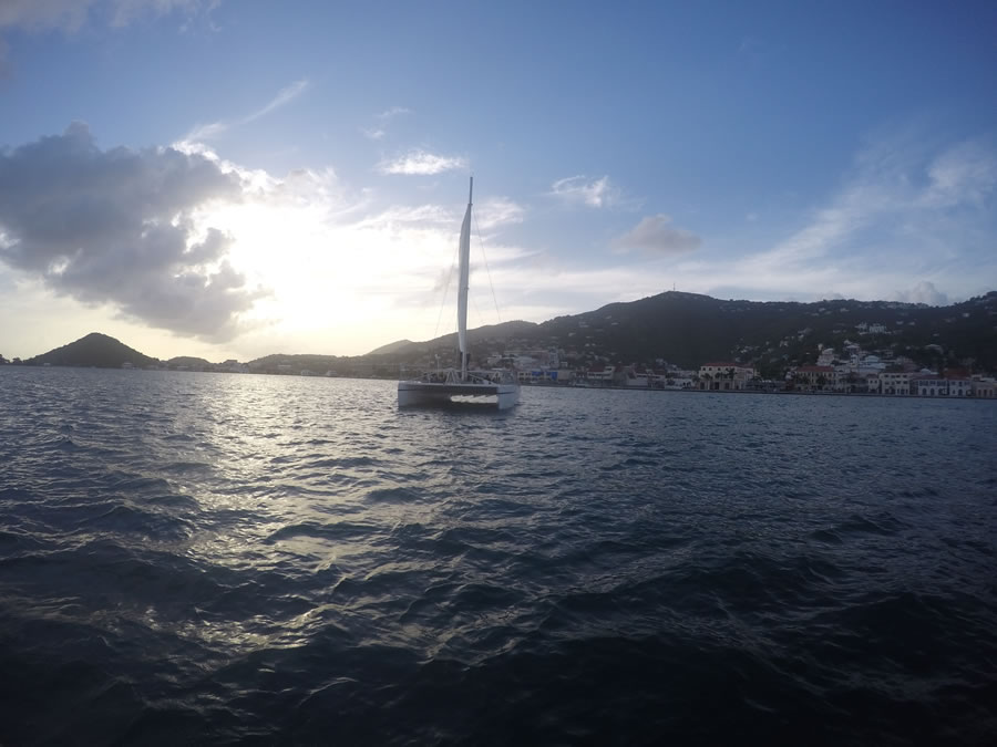Catamaran Sailing Snorkeling in St. Thomas USVI, Virgin Islands