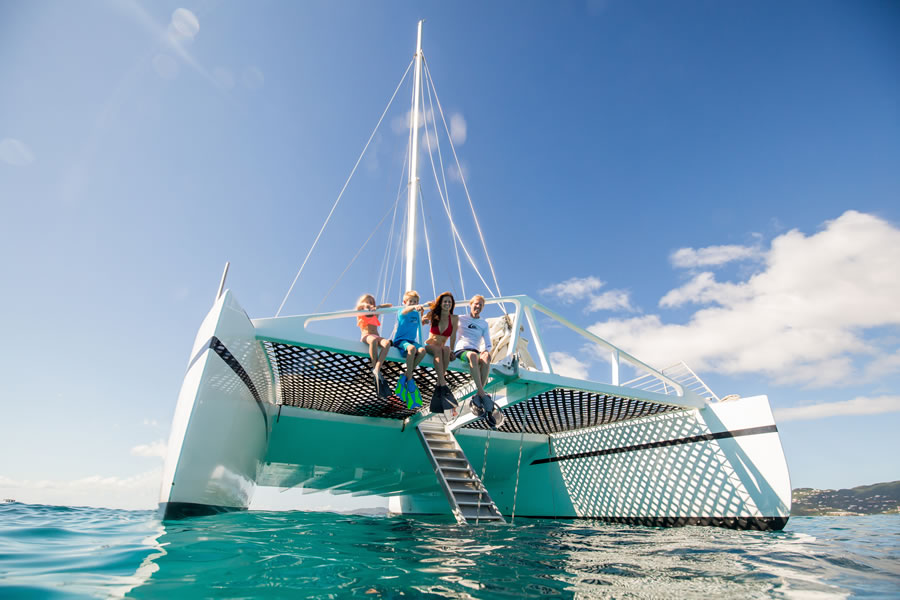 Photo Gallery The Vi Cat Snorkel And Catamaran Sail Tours