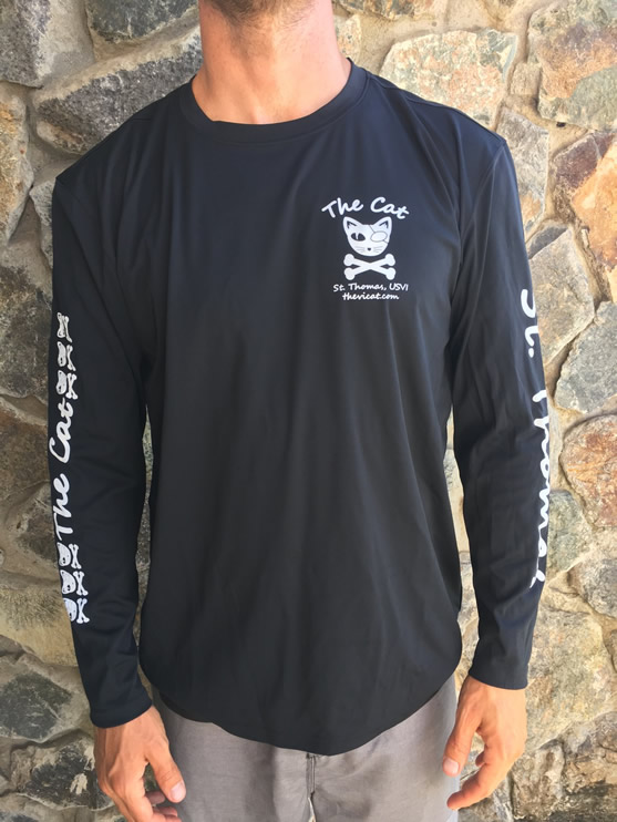 dryfit long sleeve catamaran sailing st. thomas usvi